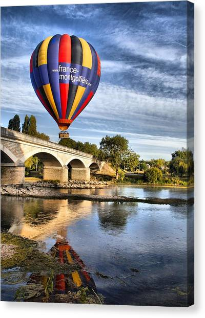 Clear And Away Canvas Print