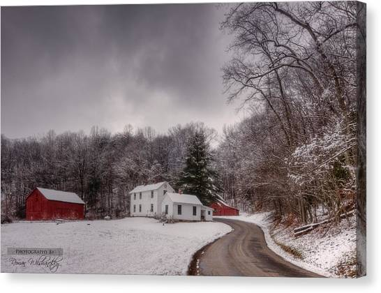 Clear Creek Ranger Station Canvas Print
