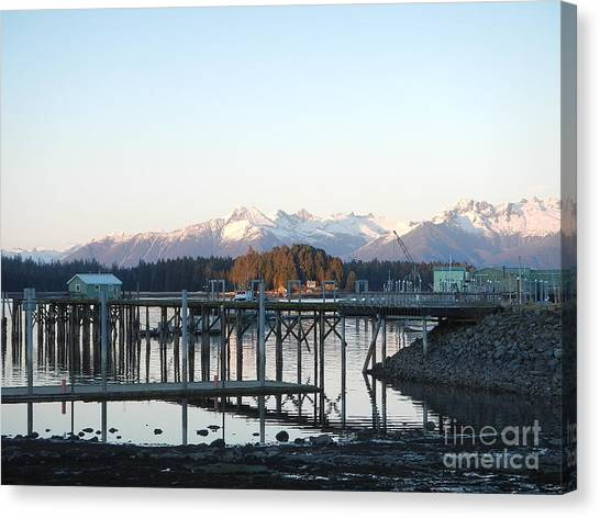 Clear Winter's Day Canvas Print