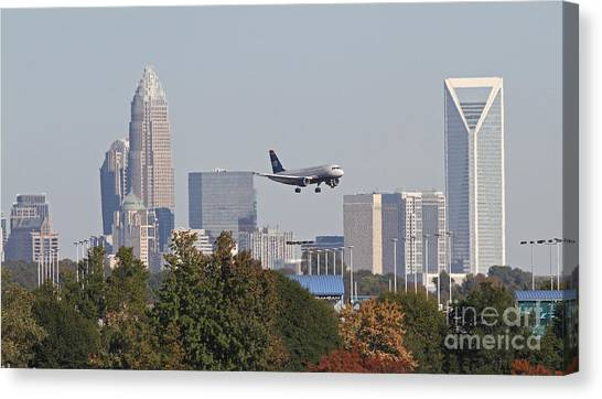 Cleared To Land Canvas Print