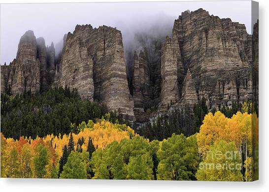 Clearing Storm Over The Cimarrons Canvas Print