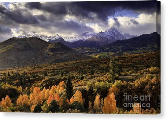 Clearing Storm The Sneffels Range Canvas Print