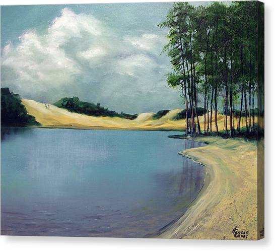 Cleawox Lake Canvas Print