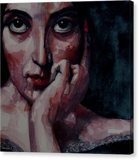 Nose Canvas Print - Clementine by Paul Lovering