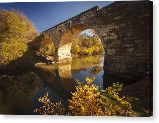 Clements Stone Arch Bridge Canvas Print