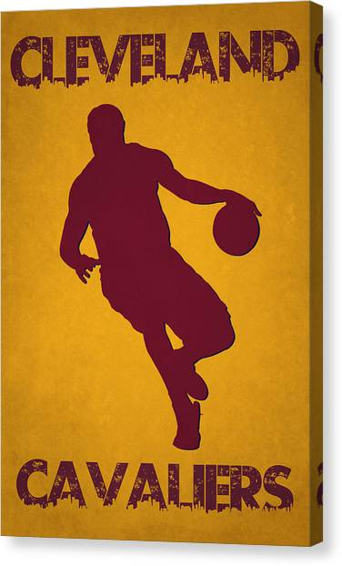 Lebron James Canvas Print - Cleveland Cavaliers Lebron James by Joe Hamilton