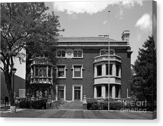 Ohio University Canvas Print - Cleveland State University Mather Mansion by University Icons