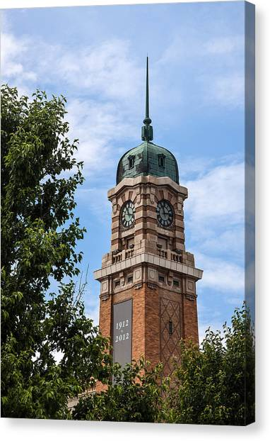 Cleveland West Side Market Tower Canvas Print