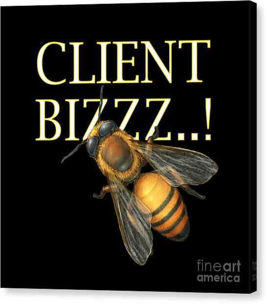 Client Buzzz Canvas Print