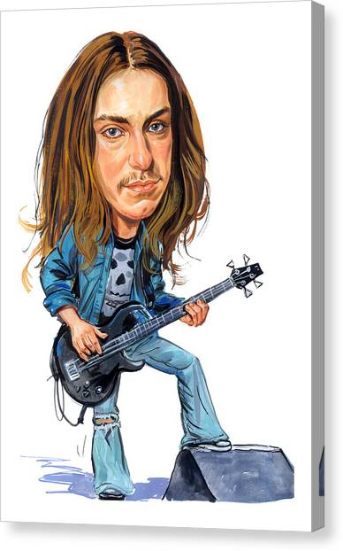 Snowboarding Canvas Print - Cliff Burton by Art