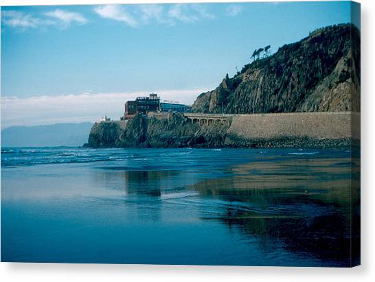 Cliff House 1956 Canvas Print by Cumberland Warden