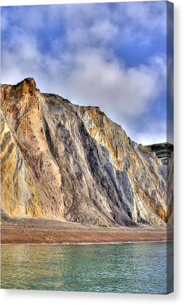 Canvas Print - Cliffs At The Isle Of Wight by Fizzy Image