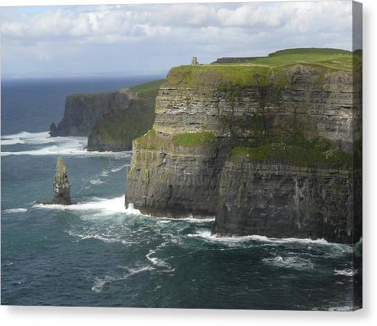 Cliffs Of Moher 2 Canvas Print