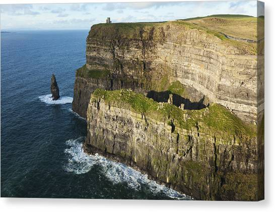 The Cliffs Of Moher Canvas Print - Cliffs Of Moher_ County Clare, Ireland by Carl Bruemmer
