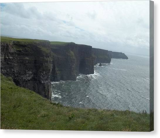 Cliffs Of Moher II Canvas Print