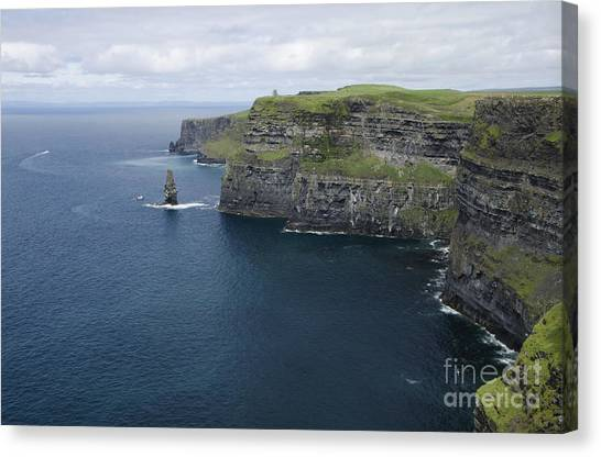 The Cliffs Of Moher Canvas Print - Cliffs Of Moher by RicardMN Photography