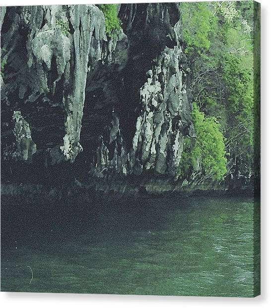 Karsts Canvas Print - #cliffs  On A #karst  #tropical by Alexandra Cook