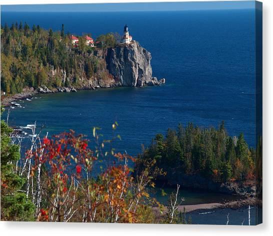 Cliffside Scenic Vista Canvas Print