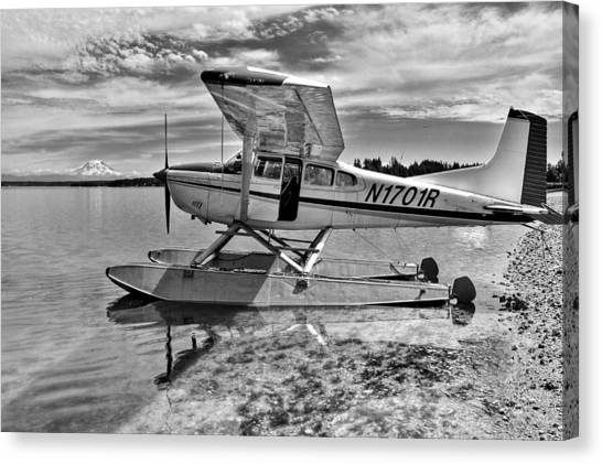 Seaplanes Canvas Print - Climb Aboard by Benjamin Yeager