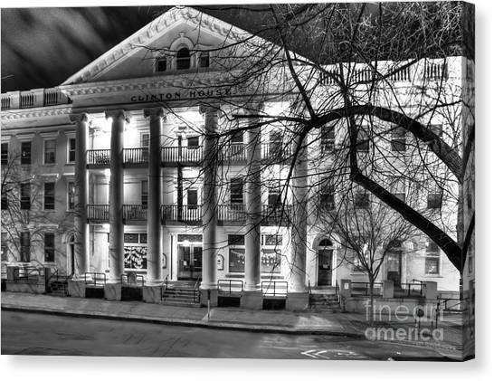 Clinton House Ithaca Canvas Print