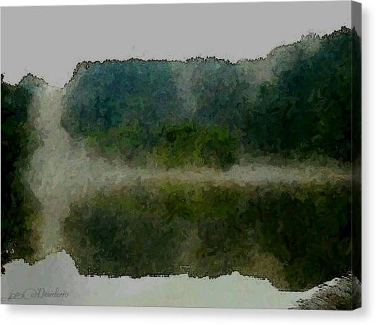 Cloaked Fluidity Canvas Print