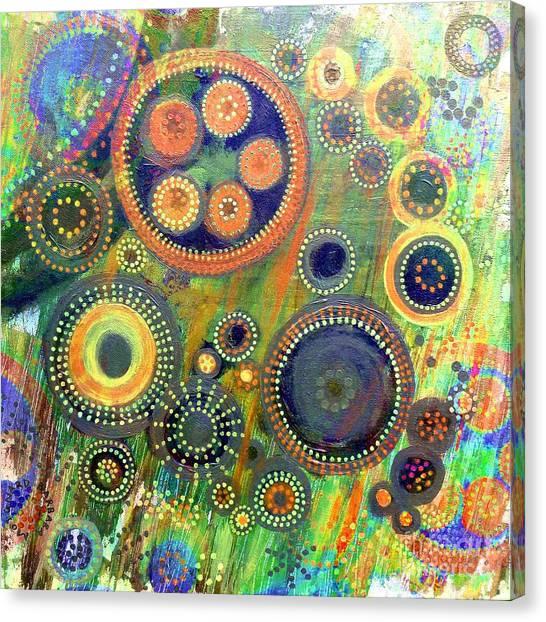 Clockwork Garden Canvas Print