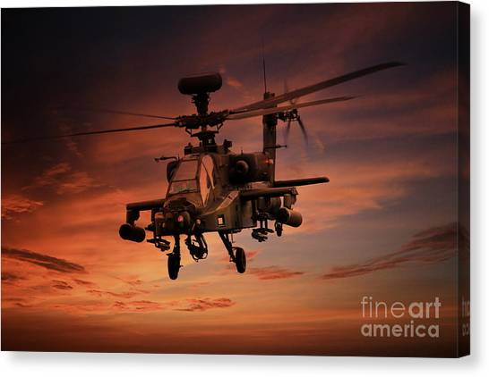 Aac Canvas Print - Close Air Support  by J Biggadike