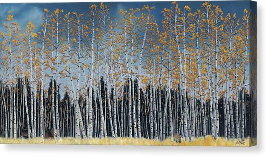 Close Call Canvas Print by Jack Atkins
