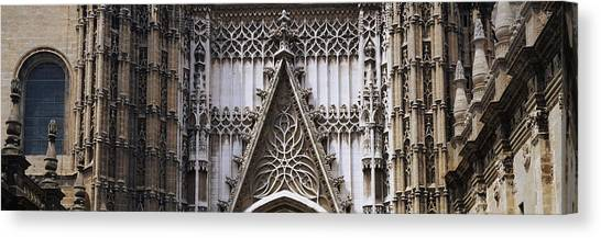 Seville Canvas Print - Close-up Of A Cathedral, Seville by Panoramic Images