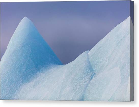 Tundras Canvas Print - Close Up On An Iceberg, Spitzbergen by Raffi Maghdessian