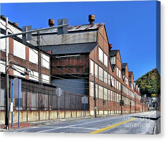 Closed Steel Mill Canvas Print