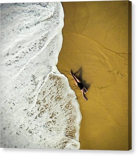 Beach Resort Canvas Print - Closer by Ambra