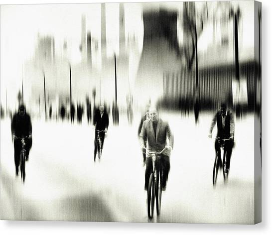Mood Canvas Print - Closing Time by Holger Droste