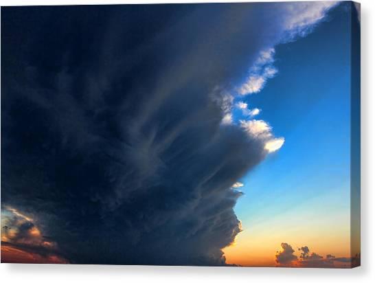 Cloud 20130330-60 Canvas Print by Carolyn Fletcher