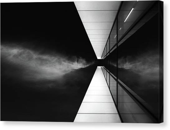 Modern Architecture Canvas Print - Cloud Attack by Jeroen Van De