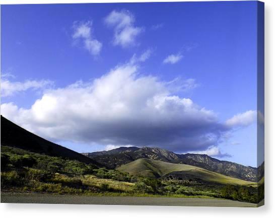 Cloud Cover Canvas Print