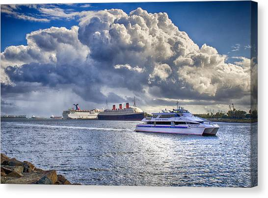 Cloud Crowns The Queen Canvas Print