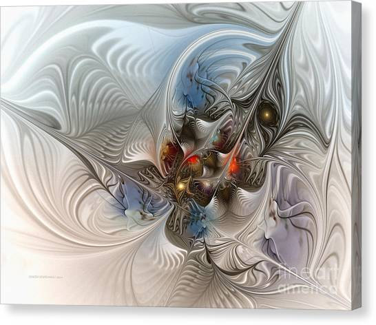 Cloud Cuckoo Land-fractal Art Canvas Print