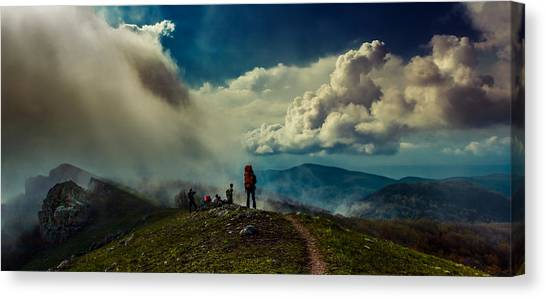 Cloud Factory Canvas Print