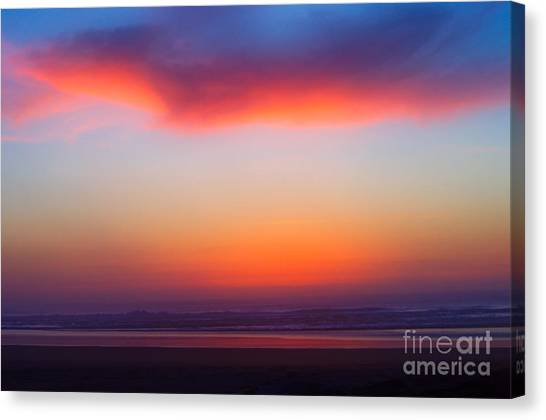 Cloud Hold The Sun Canvas Print