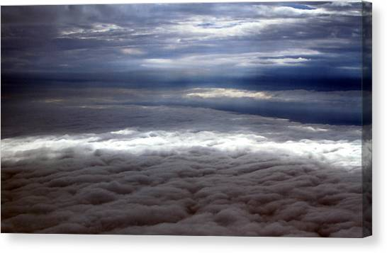 Cloud Layers 1 Canvas Print by Maxwell Amaro