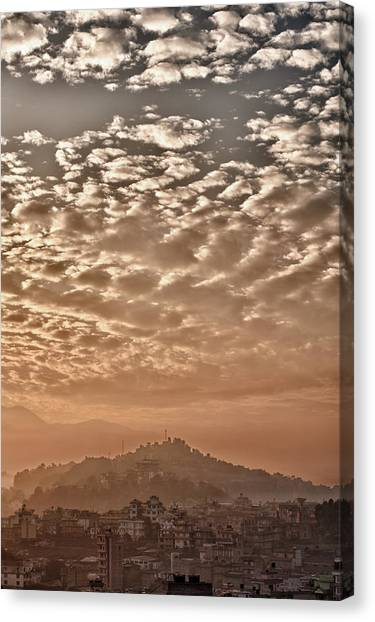Cloud Over Kathmandu Canvas Print