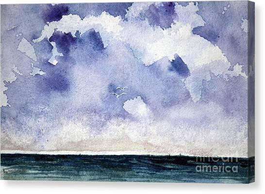 Cloud Regatta Canvas Print