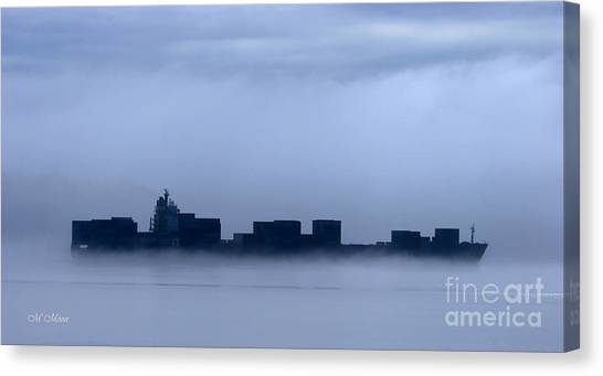 Cloud Ship Canvas Print