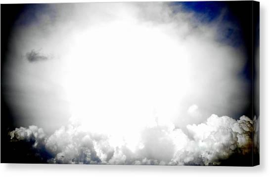 Cloudburst Sky Celestial Cloud Art Xl Resolution Canvas Print