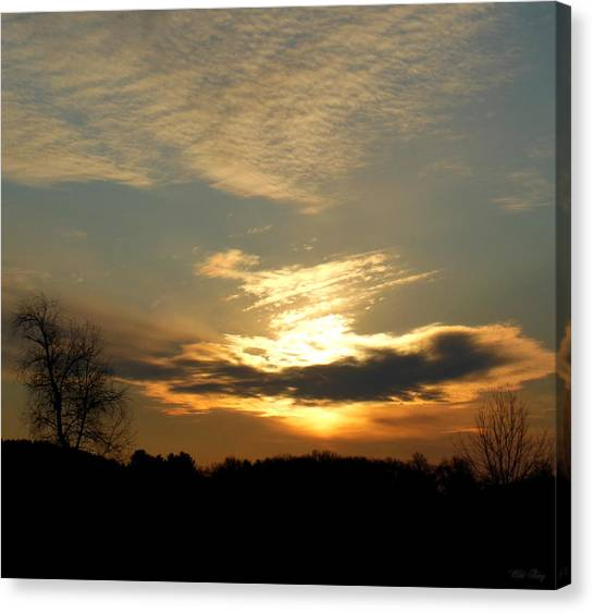 Clouded Glory Canvas Print