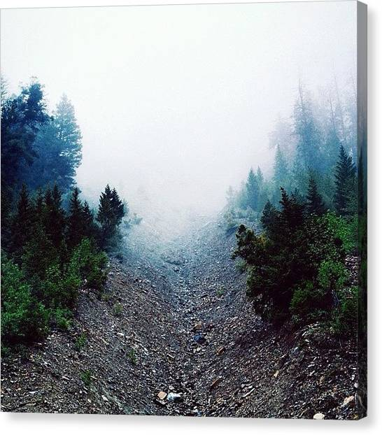 Idaho Canvas Print - #cloudforest #findingbigfoot #idaho by Cody Haskell