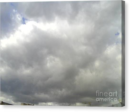 Clouds-1 Canvas Print by Katerina Kostaki