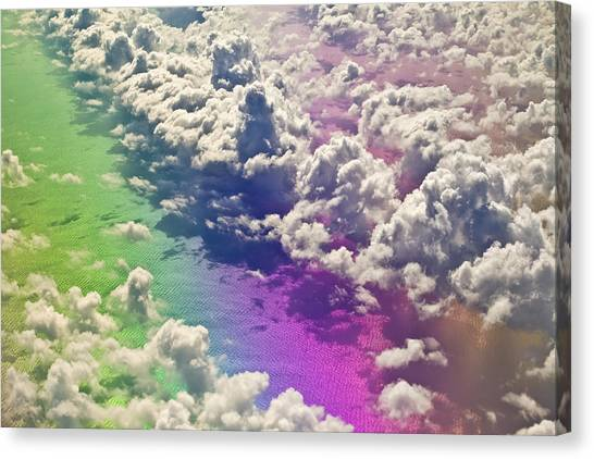 Canvas Print - Clouds #1 by Ron Morecraft