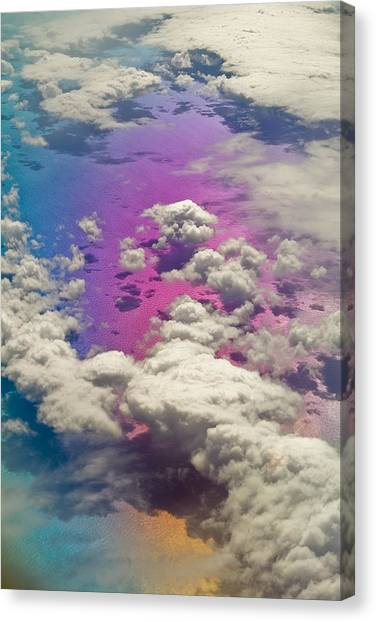 Canvas Print - Clouds #3 by Ron Morecraft